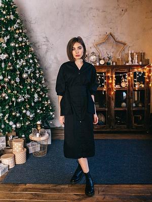 f6ee11a7a8eb картинка Платье на пуговицах с ремнём-корсетом интернет магазин являющийся  официальным дистрибьютором в России ...